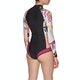 Roxy 1mm POP Surf Cheeky Long Sleeve Front Zip Womens Wetsuit