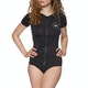 Roxy Essential Short Sleeve Zip Womens Rash Vest