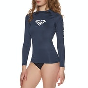 Roxy Whole Hearted Long Sleeve UPF50 Womens Rash Vest