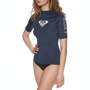 Roxy Whole Hearted Short Sleeve Womens Rash Vest