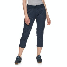 North Face Aphrodite Motion Capri , Joggebukser Kvinner - Urban Navy
