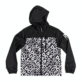 DC Dagup Print Packable 1 Boys Jacket - White