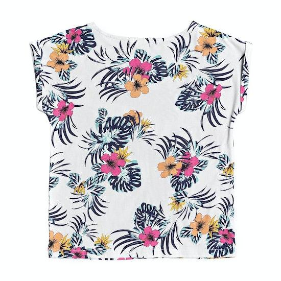 Roxy African Sunset Girls Short Sleeve T-Shirt