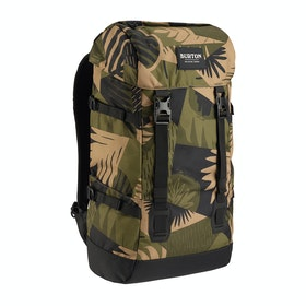 Burton Tinder 2.0 Backpack - Martini Olive Woodcut Palm