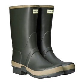 Hunter Gardener Wellington Boots - Dark Olive Clay