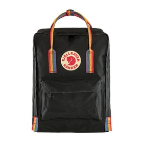 Fjallraven Kånken Rainbow Backpack - Black Rainbow Pattern