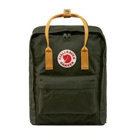 Fjallraven Kanken Classic Backpack - Deep Forest-acorn