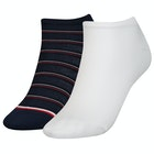 Chaussettes Femme Tommy Hilfiger Sneaker 2 Pack Preppy
