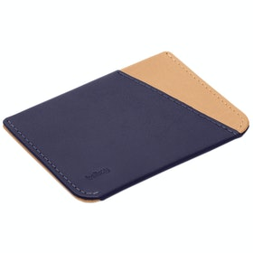 Bellroy Micro Sleeve Brieftasche - Navy Tan
