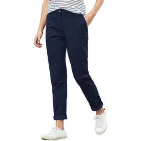 Joules Hesford Ladies Chino Pant - French Navy