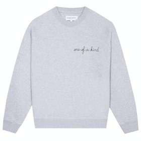Maison Labiche Sweatshirt One-of-a-kind Women's Sweater - Light Heather Grey