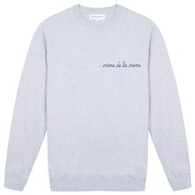 Maison Labiche Creme De La Creme Men's Sweater - Light Heather Grey