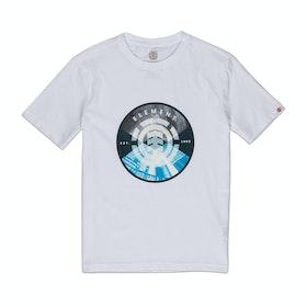 T-Shirt a Manica Corta Element Aiken - Optic White