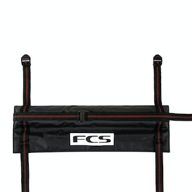 FCS Cam Lock Tail Gate Pad Surfboard Rack - Black