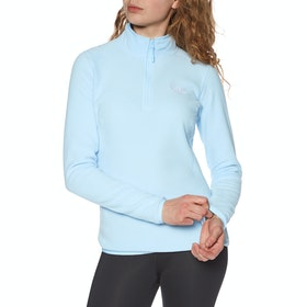 North Face 100 Glacier Quarter Zip , Fleece Kvinner - Angel Falls Blue