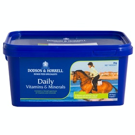 Dodson and Horrell Daily vitamins and Mineral , Hälsotillskott - Blue