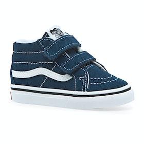 Vans Sk8 Mid Reissue V Kids Toddler Shoes - Gibraltar Sea True White