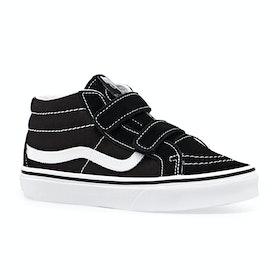 Chaussures Vans Sk8 Mid Reissue V - Black True White