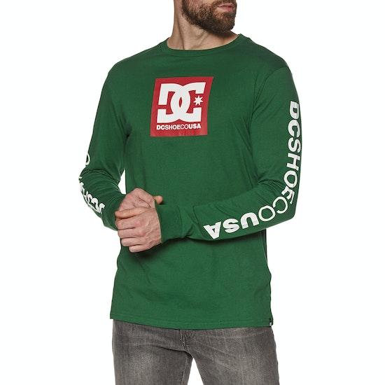 DC Square Star LS2 T-Shirt Lange Mouwen