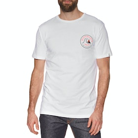Quiksilver Close Call Short Sleeve T-Shirt - White