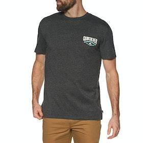 Quiksilver Cloud Corner Short Sleeve T-Shirt - Charcoal Heather