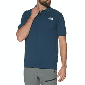 North Face Piquet Polo-Shirt - Blue Wing Teal