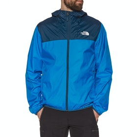 North Face Cyclone 2 Hooded , Vindtett jakke - Blue Wing Teal Clear Lake Blue