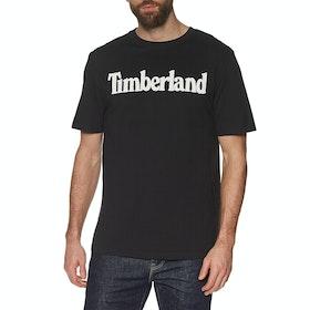 Camiseta de manga corta Timberland Kennebec River Brand Linear - Black