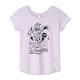 Animal Glow Girls Short Sleeve T-Shirt