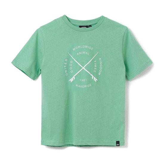 Animal Waveride Boys Short Sleeve T-Shirt