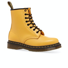 Dr Martens 1460 Womens Boots - Yellow Smooth