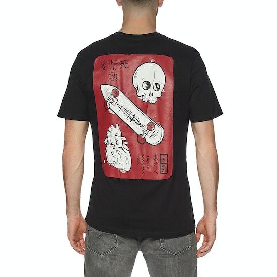 Element Love Passion Death Short Sleeve T-Shirt