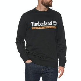 Sweat Timberland Established 1973 Crew - Black-wheat Boot