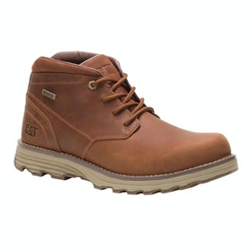 Caterpillar Elude Waterproof Boots - Leather Brown