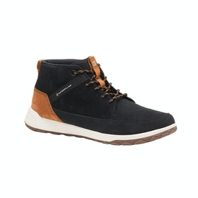 Caterpillar Code Quest Mid Stiefel - Black Pumpkin Spice