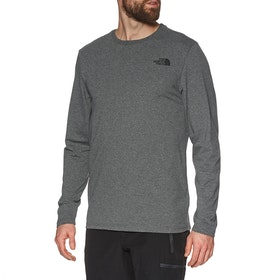 North Face Easy , Langermet t-skjorte - TNF Medium Grey Heather