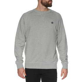 Timberland Exeter River Basic Regular Crew  Pullover - Medium Grey Heather