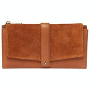 Joules Aycliffe Suede Purse