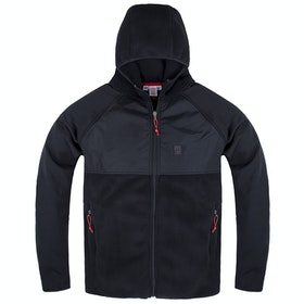 Topo Designs Hooded Fleece - Black