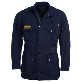 Barbour International Summer Wash A7 Wax Jacket - Dk Indigo