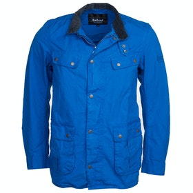 Barbour International Sum Wash Duke Wax Jacket - Azurite