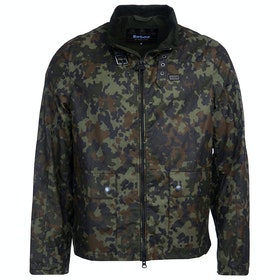Barbour International Brampton Wax Jacket - Jungle Camo