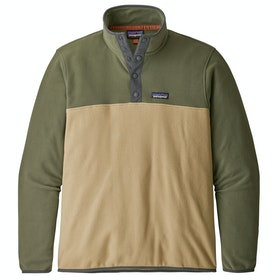 Patagonia Micro D Snap T Fleece - Classic Tan