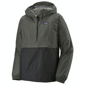 Patagonia Torrentshell 3L Pullover Waterproof Jacket - Black