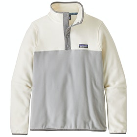 Polar Patagonia Micro D Snap-t - Drifter Grey white Wash
