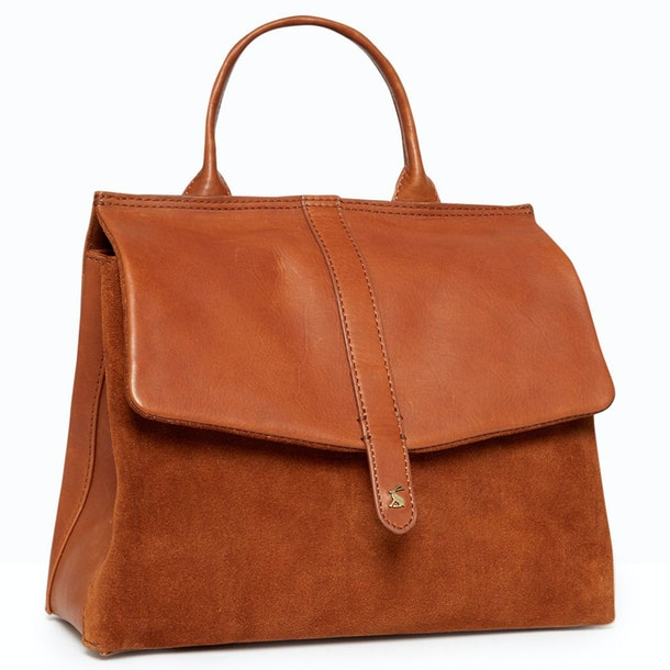 Joules Molton Suede Handbag