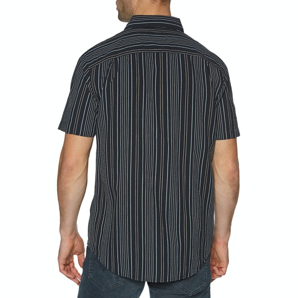 Farah Galena Seersucker Stripe Short Sleeve Shirt