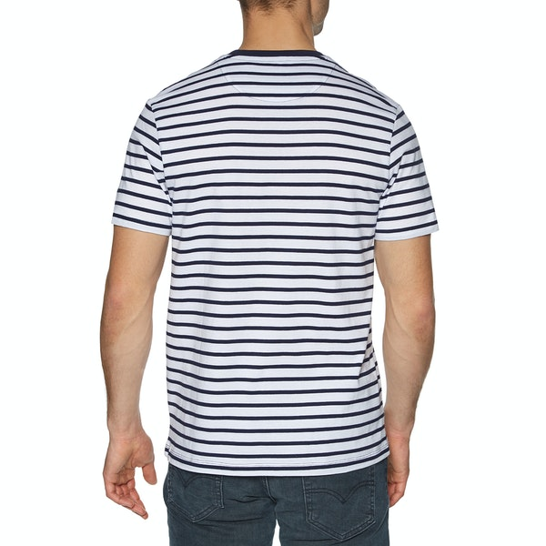 T-Shirt de Manga Curta Lyle & Scott Vintage Breton Stripe