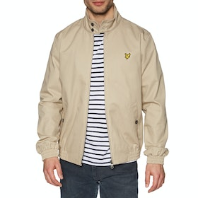 Lyle & Scott Vintage Harrington Herren Jacke - Stone