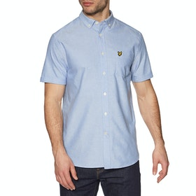 Lyle & Scott Vintage Oxford Short Sleeve Shirt - Riviera